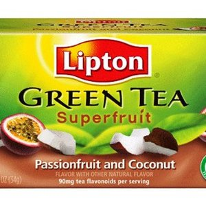 Green Tea Superfruit, Passionfruit and Coconut from Lipton