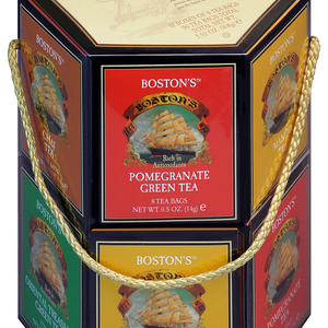 Classic Tea Collection 96ct Assorted Sampler Tote from The Boston Tea Company