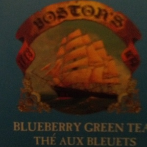 Blueberry Green Tea from The Boston Tea Company