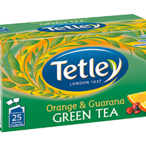Orange & Guarana Green Tea from Tetley