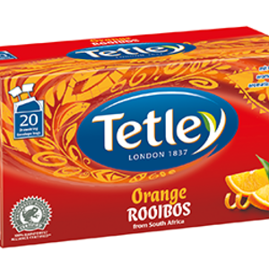 Orange Rooibos from Tetley