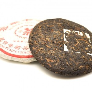 2005 Mini Pu-erh Bing Cha-Tea Cake-05PM100-10pcs/Stack from ESGREEN