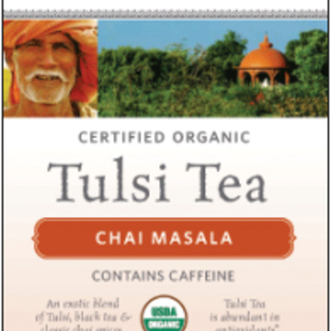Chai Masala Tulsi Tea from Organic India