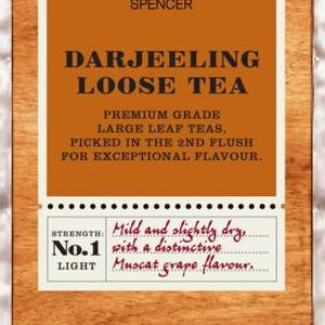 Darjeeling loose tea from Marks & Spencer Tea