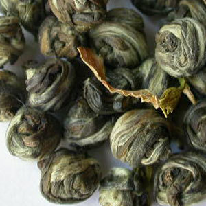 Dragon pearls from Camellia Sinensis