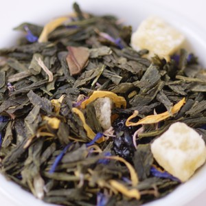 Pineapple-Blueberry Green Tea from Ovation Teas