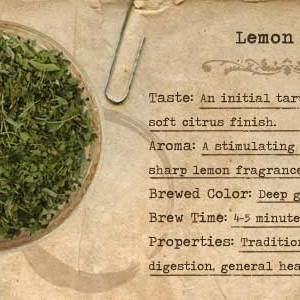 Lemon Tea from Mountain Rose Herbs
