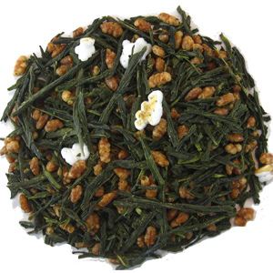 Steamed Green Tea (Gen Mai Cha) from Silk Road Teas