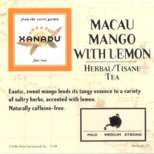 Macau Mango w/ Lemon from Xanadu Fine Teas