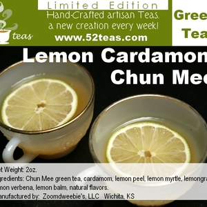 Lemon Cardamom Chun Mee from 52teas