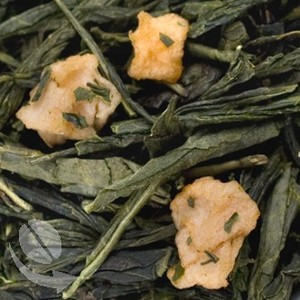 Ginger Peach Green Tea from Coffee Bean Direct