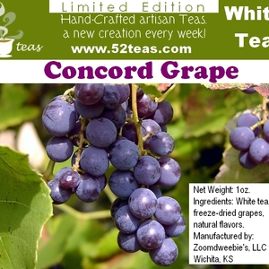 Concord Grape Bai Mu Dan from 52teas