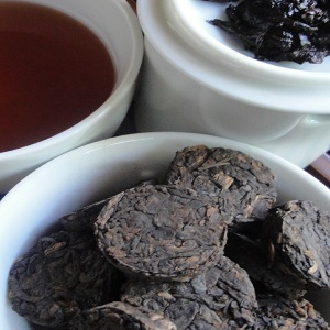 Organic Ancient Phoenix Puerh from Butiki Teas