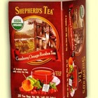 Cranberry Orange Rooibos from Shepherd's Tea (AKA The Shepher'd Garden)