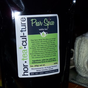 Pear Spice from Hor-Tea-Cul-ture