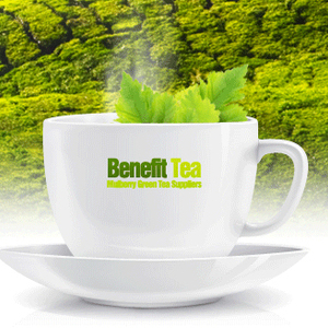 Mulberry & Japanese Green Tea from Benefit Tea