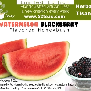 Watermelon Blackberry Honeybush from 52teas