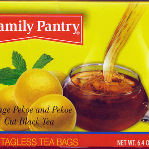 Orange Pekoe and Pekoe Cut Black Tea from Family Pantry