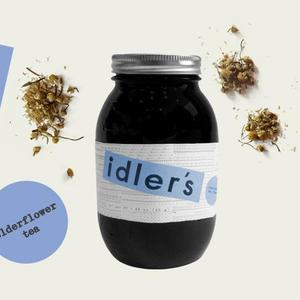 elderflower tea from Idler's Tea