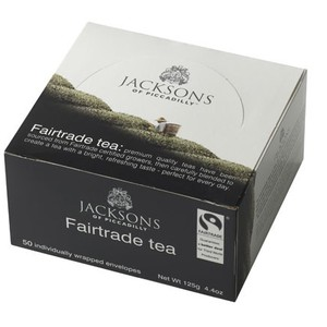Fairtrade tea from Jackson's of Piccadilly