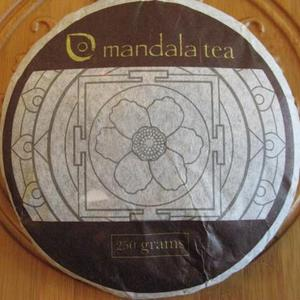 250 gram Mandala Wild Mountain Green Raw-2011 from Mandala Tea