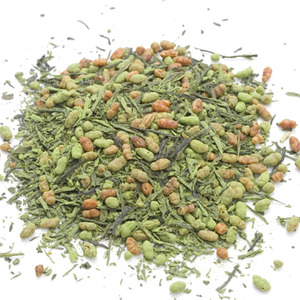 Organic Matcha Infused Genmaicha from Aiya