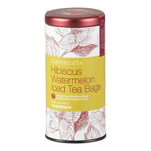 Hibiscus Watermelon Iced Tea from The Republic of Tea for Crate and Barrel