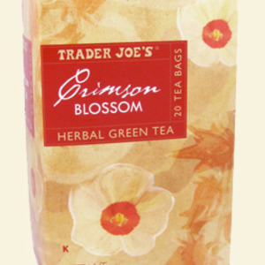 Crimson Blossom Green Tea from Trader Joe's