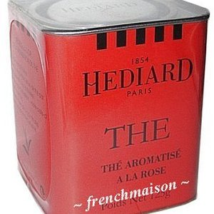 Thé Aromatisé a la Rose (Rose Tea) from Hediard