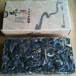 Douji Sheng Puer Brick from Phoenix Tea Shop