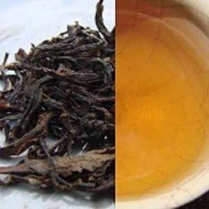 2005 Sun-dried Yi Wu Mao Cha, Dry-storaged from Hou De Asian Art & Fine Teas