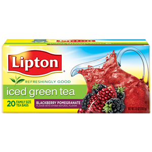 Iced Green Tea Blackberry Pomegranate from Lipton