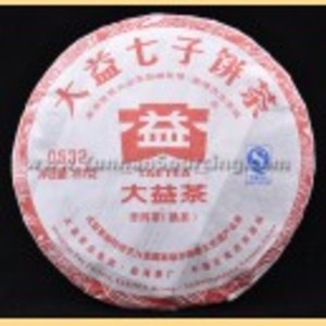 2011 Yunnan Menghai Dayi 0532 from Menghai Tea Factory(from berylleb ebay)