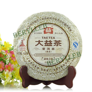 2010 Yunnan Menghai Dayi Star of Menghai from Meng Hai Tea Factory(berylleb ebay)