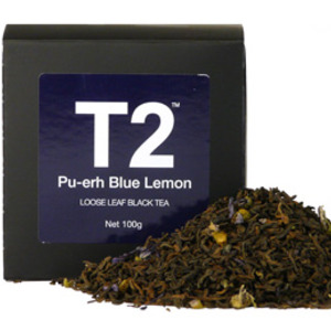 Pu-Erh Blue Lemon from T2