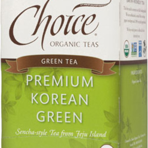 Premium Korean Green from Choice Organic Teas
