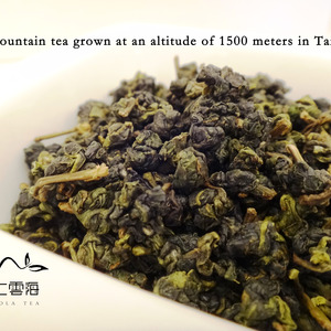 Taiwan Alishan Oolong Tea High Mountain Tea from Nuvola Tea