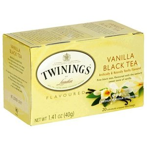 Black tea with vanilla
