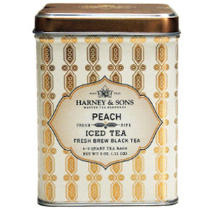 Peach Iced Tea from Harney &amp; Sons