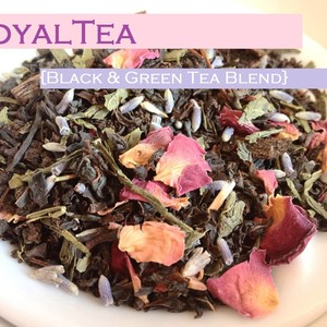 RoyalTea {Black & Green Tea Blend} from iHeartTeas