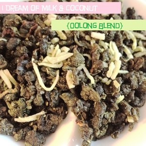 I Dream of Milk &amp; Coconut {Oolong Blend} from iHeartTeas
