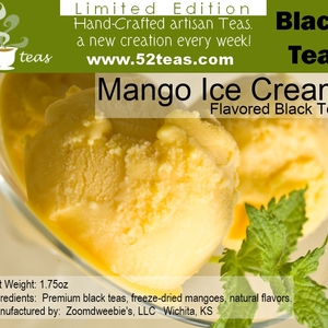 Mango Ice Cream from 52teas