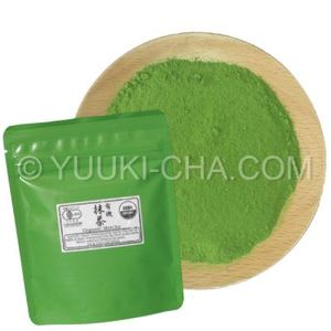 Organic Uji Matcha Yuuki Midori from Yuuki-cha