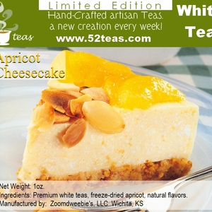 Apricot Cheesecake Shou Mei from 52teas
