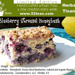 Blueberry Streusel Honeybush from 52teas