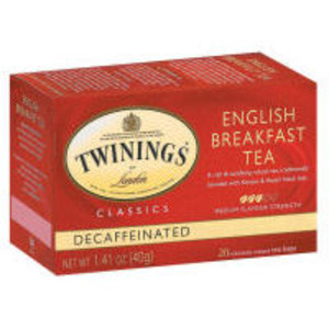 English Breakfast Decaf from Twinings