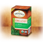 Green Tea with Mint Organic &amp; Fair Trade Certified Tea from Twinings of London