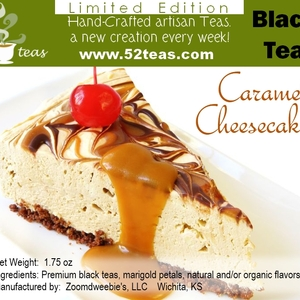 Caramel Cheesecake Black Tea from 52teas