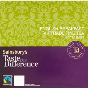 English Breakfast from Sainsbury's