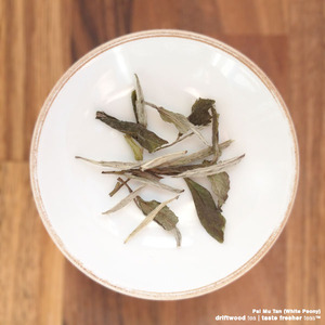 Pai Mu Tan (White Peony) from driftwood tea